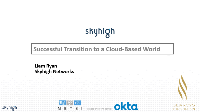 Successful Transition to a Cloud-Based World