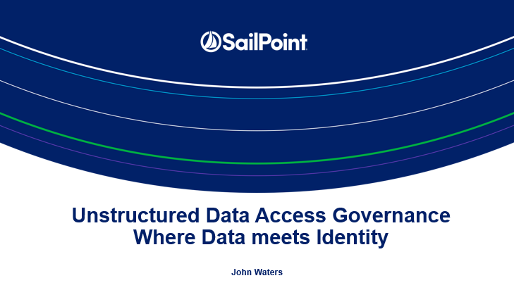 Unstructured Data Access Governance