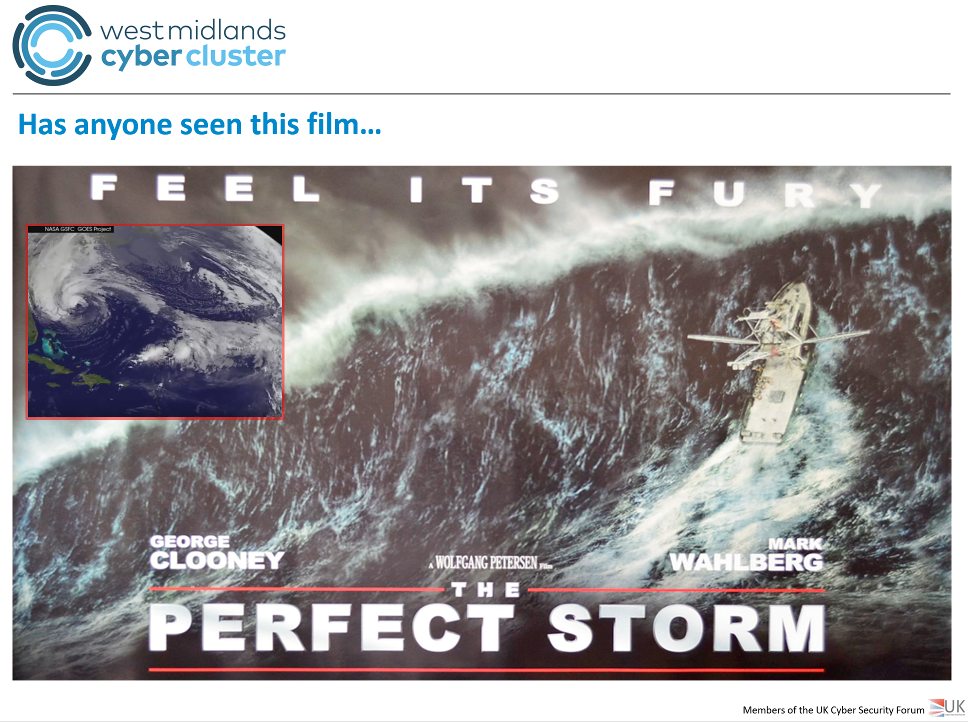 WestMidlands Cyber Cluster The Perfect Storm